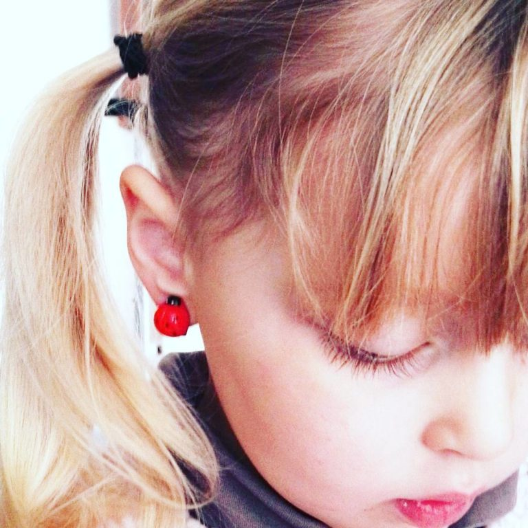 kid-earrings-coccinelles